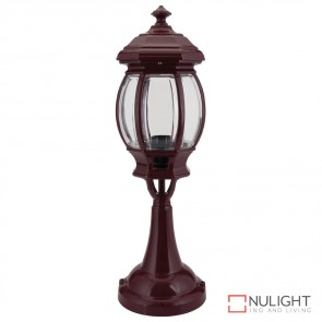 Gt 673 Vienna Pillar Mount Light Burgundy Finish B22 DOM