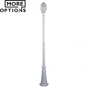 Gt 678 Vienna Single Head Tall Post Light B22 DOM