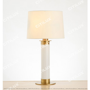 American Copper Two-Color Table Lamp Citilux