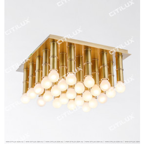 Bamboo Full Copper Ceiling Lamp Citilux