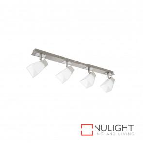 Ellie 4Lt Square Glass Spotlight - Chrome BRI