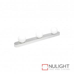 Rita 3 Light Hollywood Style Bulb Vanity Light-Brushed Aluminium BRI