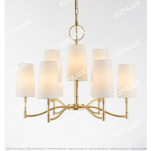 Simple American Medium Chandelier Citilux