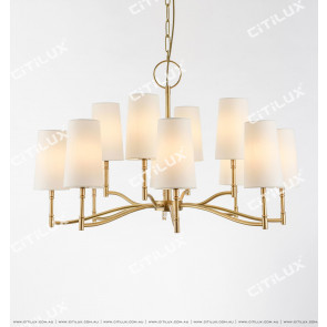 Simple American Large Chandelier Citilux
