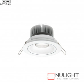 Illumina Cob Led Round Gimbal Downlight -White BRI