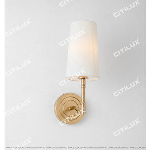 Simple American Single Head Wall Light Citilux