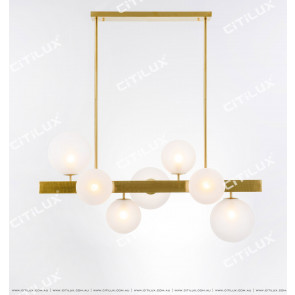 Fantasy Glass Bulb Cross Chandelier Citilux