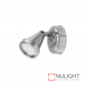 Secura 1X4W Led Floodlight Brushed Nickel BRI