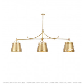 American Copper Bar Chandelier Citilux