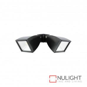 Strand Modern 2X10W Floodlight Black BRI
