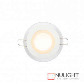 Stride Led Round Downlight Or Steplight 6W 400Lm 3000K-White BRI