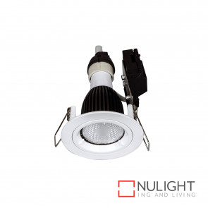 Downlight Kit - Fixed Gu10 Globe Not Included-White BRI