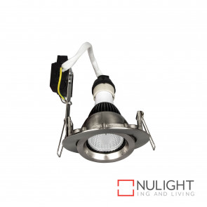 Downlight Kit - Gimbal Gu10 Globe Not Included-Brushed Nickel BRI