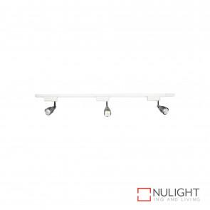 Upfield 3 Light Led Track And Spotlight Kit 7W 560Lm 4200K-White BRI
