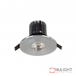 Luxor Led Round Fixed Downlight 12W 800Lm 3000K-Anodised Aluminium BRI