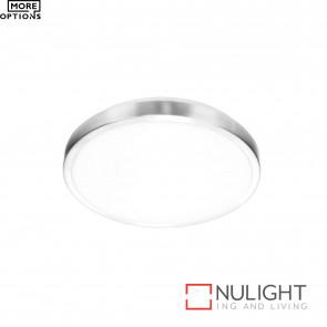 Oculus T5 Round Ceiling Light-Brushed Aluminium BRI