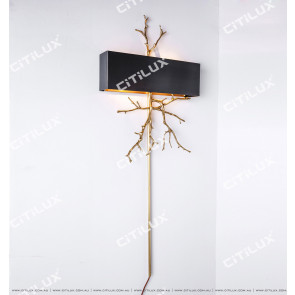Copper Branches Wall Light Citilux