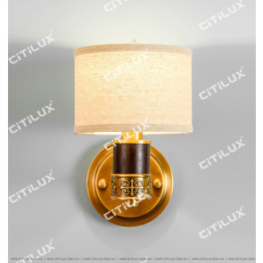 New Chinese Copper Chandelier Single Head Wall Light Citilux