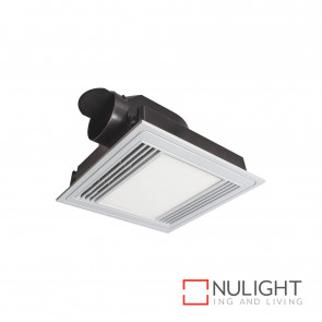 Tercel Exhaust Fan And 13W 1000Lm Led Light - White BRI