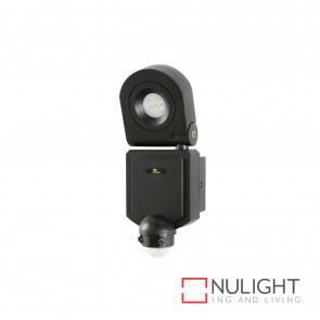 Arcolux 1 Light Security Wall Light With Sensor - Charcoal BRI