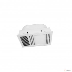 Andromeda 3-In-1 Bathroom Mate With Ptc Heater And 1000Lm Led Light - White BRI