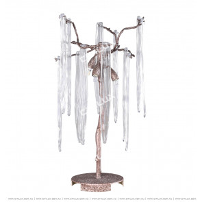 Full Copper Branch Glass Table Lamp Citilux