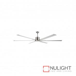 Maelstrom 84 Inch Industrial Style Ceiling Fan-Satin Nickel BRI