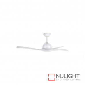 Latitude 52 Inch Decorative Acrylic Ceiling Fan-White BRI