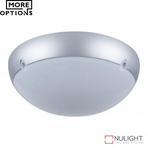 Vl 140102 Large Round 240V Polycarbonate Ceiling Light E27 DOM