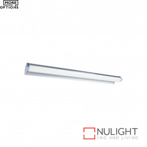 Greta-Ii Slimline Led Vanity Light  - Silver BRI