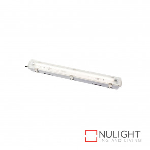T5 Weatherproof Fluorescent Fitting 1X14W 4200K Ip65 - Grey BRI