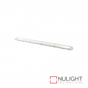 T5 Weatherproof Fluorescent Fitting 1X28W 4200K Ip65 - Grey BRI