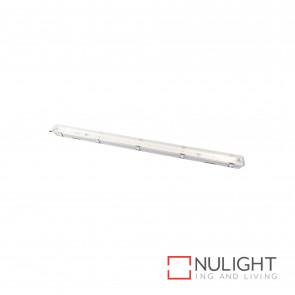 T5 Weatherproof Fluorescent Fitting 1X28W 4200K Ip65 - Grey BRI