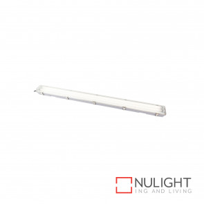 T5 Weatherproof Fluorescent Fitting 2X28W 4200K Ip65 - Grey BRI