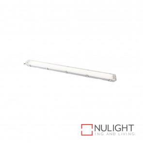 T5 Weatherproof Fluorescent Fitting 2X28W 4200K Ip65 - Grey BRI