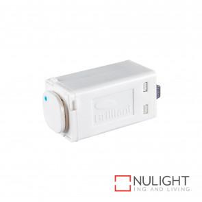 Dimmer Universal Push Button 350W Max - White BRI