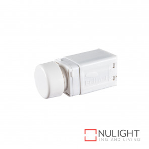 Dimmer Universal Rotary Dial 350W Max - White BRI