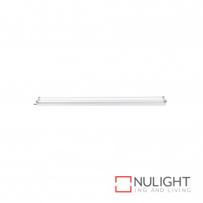T5 Bare Batten Fluorescent Fitting 2X28W 4200K - White BRI