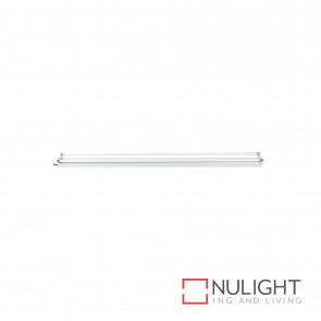 T5 Bare Batten Fluorescent Fitting 2X28W 4200K - White BRI