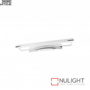 Hepburn Led Vanity Light Chrome BRI
