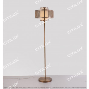 Chinese Stainless Steel Mesh Floor Lamp Citilux
