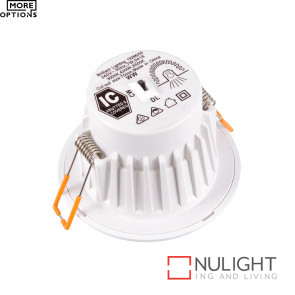 Orion 8W Led 90Mm Cutout Dimmable Downlight - White BRI