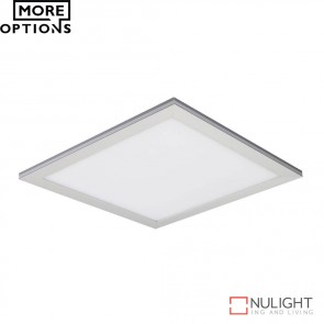 Panel 303 Square 18W Led Panel Light Natural Anodised Aluminium Frame  Led DOM