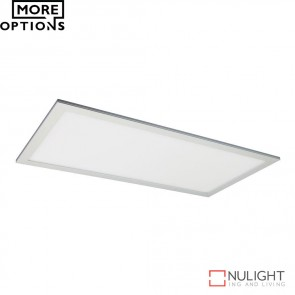 Panel 306 Rectangular 36W Led Panel Light Natural Anodised Aluminium Frame Led DOM
