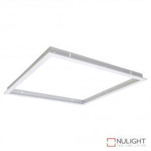 Trim 606 Square Recessed Panel Trim Satin White Trim DOM