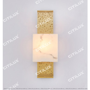 Metal Embossed Marble Wall Lamp Citilux