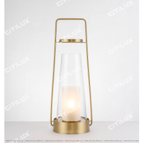 Modern Candle Table Lamp Small Citilux