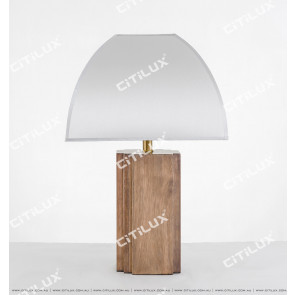 Vanessa Four Corner Wooden Table Lamp Citilux