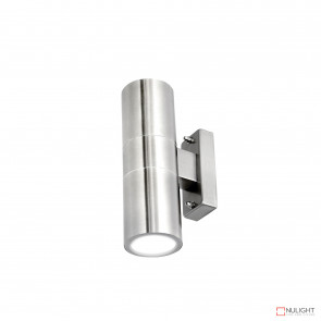 Denver-Ii Up And Down Wall Light Inc 4W Led Globes-316 Stainless Steel BRI