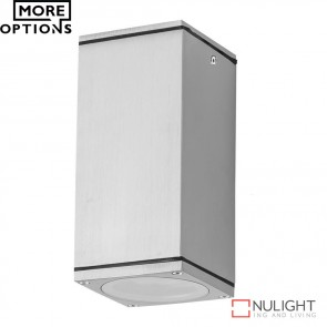 Alpha Sm Rectangular 240V 6W Led Ceiling Light Anodised Led DOM
